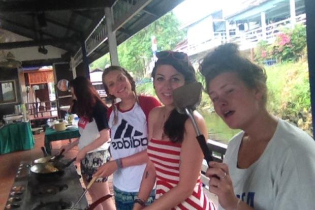 cooking class kanchanaburi thailand