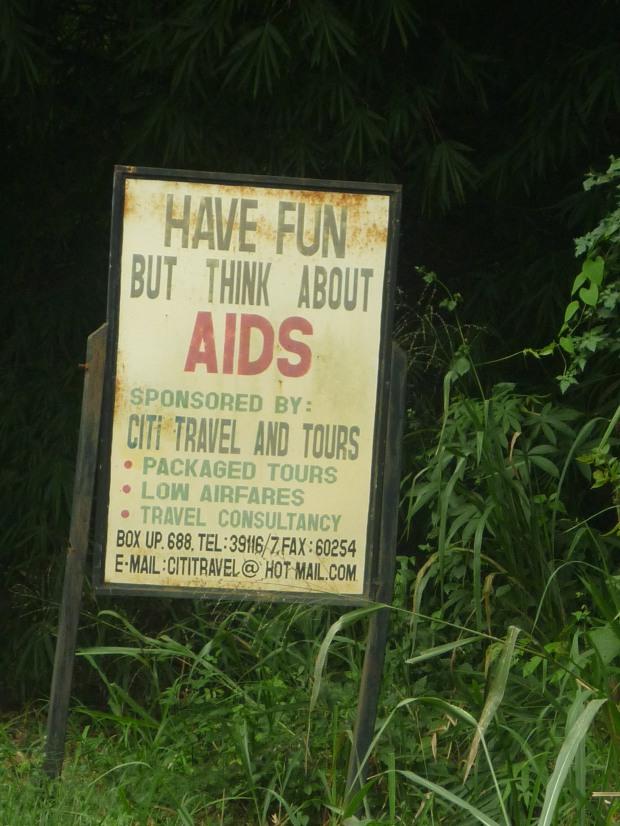 aids awareness ghana lake bosumtwe
