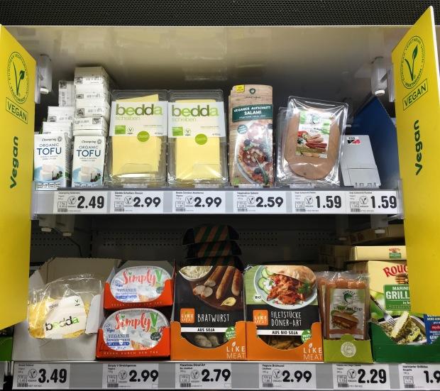 Berlin vegan aisle