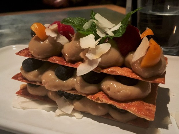 teresa carles vegan mille fieulle barcelona