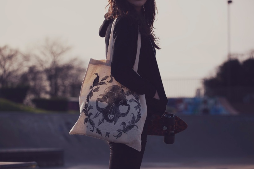 katrine macklin tote bag tabby farrar shot by charlotte lipscombe