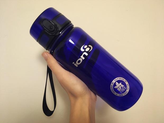 ion8 reusable water bottle tabby justcantsettle