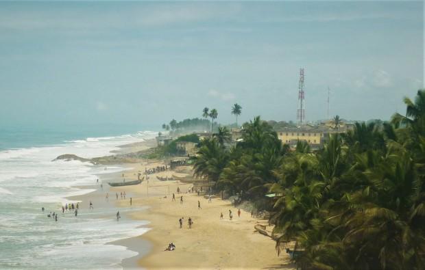 Cape Coast Beach Ghana