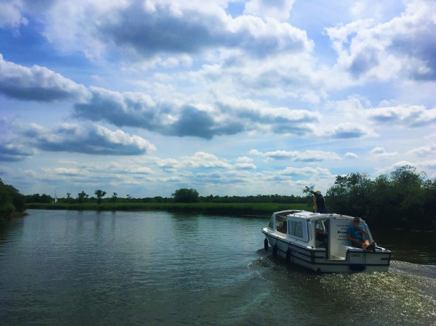 Norfolk Broads Day Boat