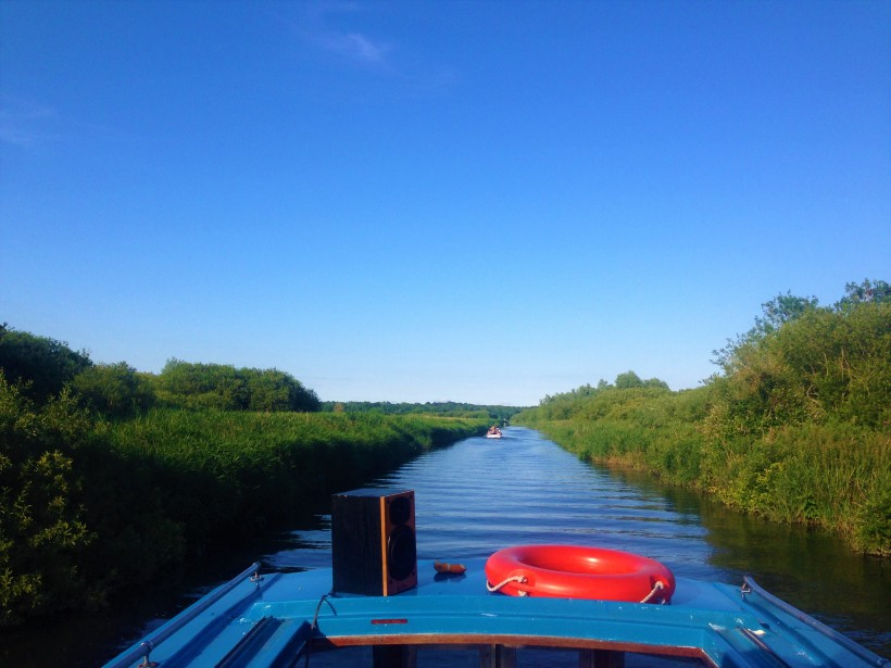 Norfolk Broads Day Boat Trip UK