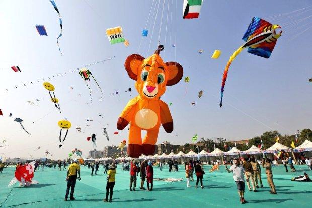 ahmedabad kite festival