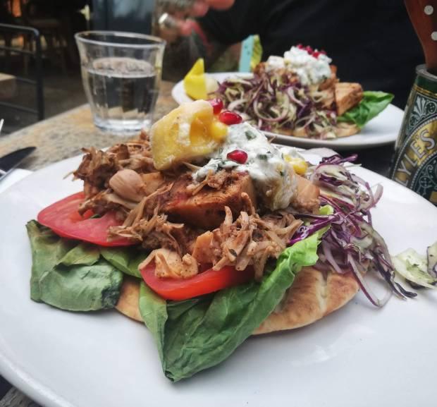 the_old_bicycle_shop_cambridge_vegan_food_kebab_jackfruit