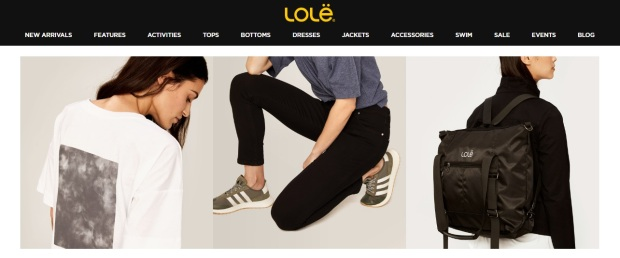 lole canada ethical fashion