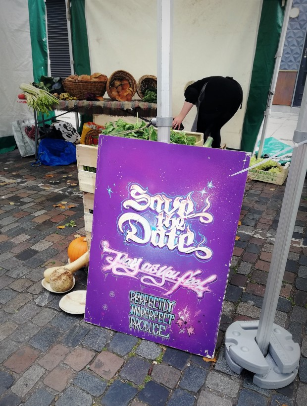 save the date dalston sustainable eating