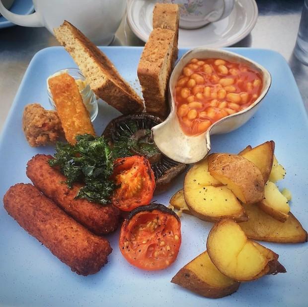 The river kitchen wroxham vegan breakfast