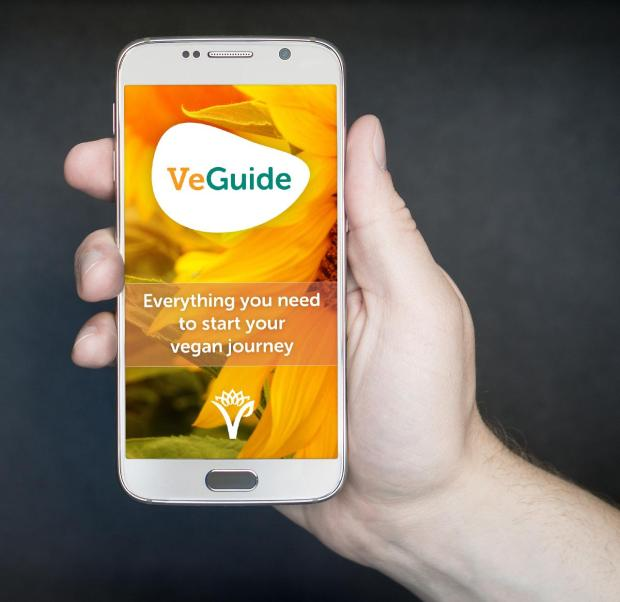 the vegan society veguide app
