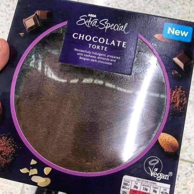 Asda Vegan Chocolate Torte