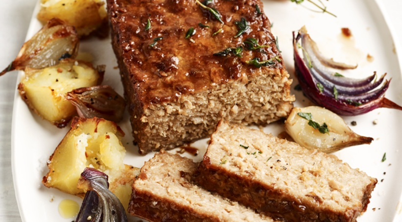 Linda McCartney vegan beef roast