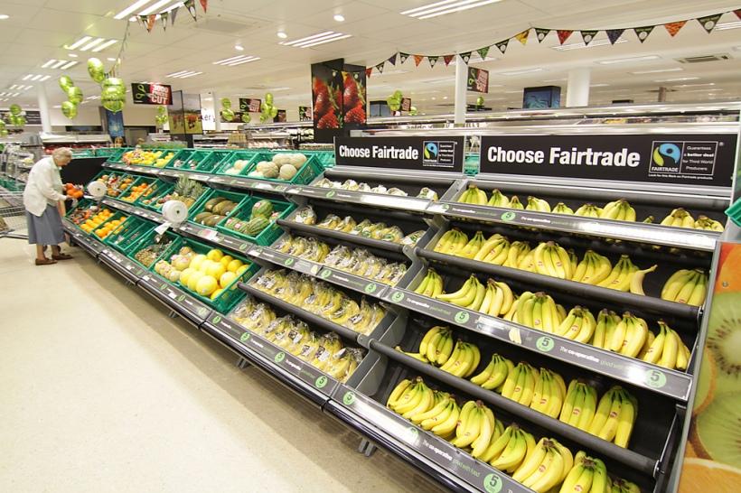 co-op fairtrade bananas