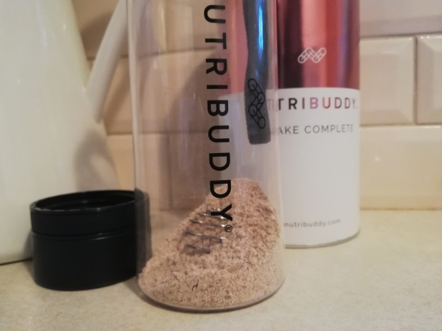 nutribuddy shake complete vanilla mix