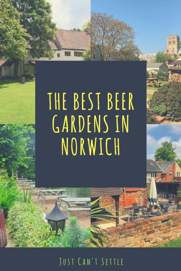 The best beer gardens in Norwich