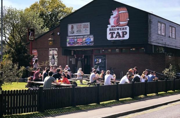 Fat Cat Brewery Tap Norwich Pub Garden