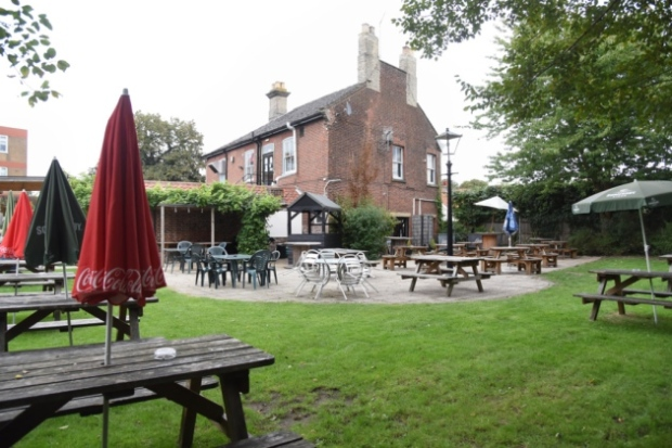 Norwich garden house beer garden