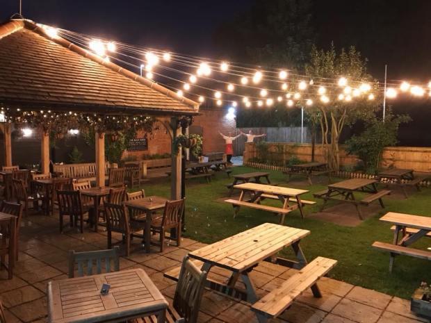 The Black Horse Norwich Beer Garden