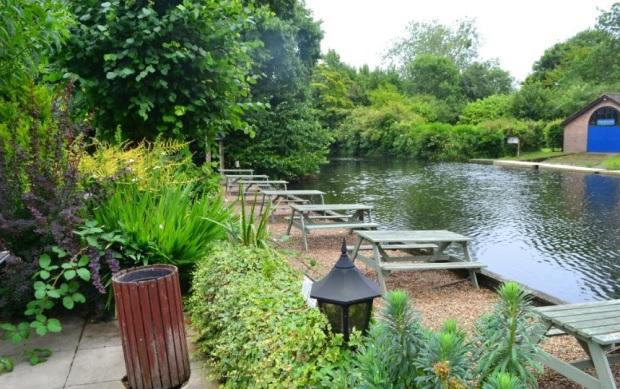 The River Garden Norwich Beer Garden
