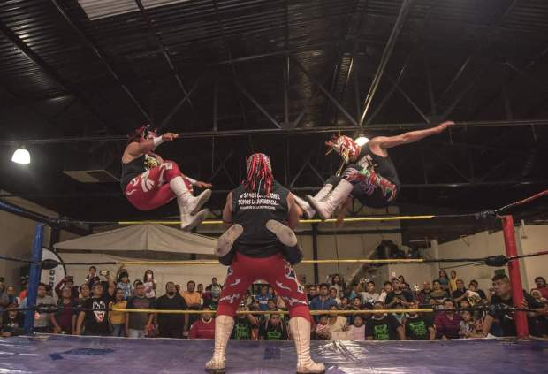 lucha libre oaxaca arena san francisco