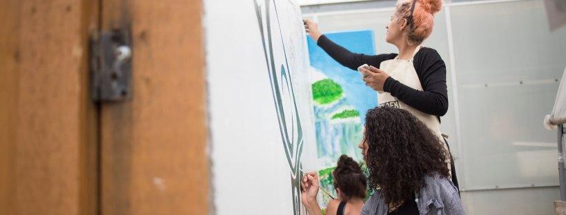 sustainable art mural